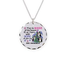 Holiday Penguins SIDS Necklace