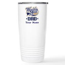 DAD (WORLDS BEST) Travel Coffee Mug