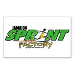 Jamaica Sprint Factory Rectangle Sticker