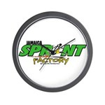 Jamaica Sprint Factory Wall Clock