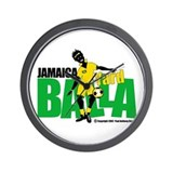 Jamaica Yard Balla 2 Wall Clock