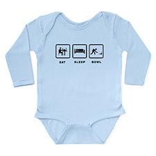 Bowling Long Sleeve Infant Bodysuit