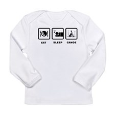 Canoe Slalom Long Sleeve Infant T-Shirt