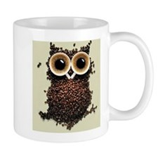 Coffee Bean Owl Mug