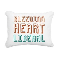 bleedingliberal.png Rectangular Canvas Pillow