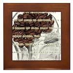 caffeinemantra Framed Tile