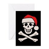 santa-pirate2-DKT.png Greeting Card