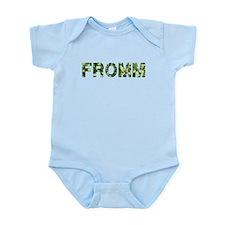Fromm, Vintage Camo, Infant Bodysuit