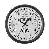Unique Pilot Large Wall Clock