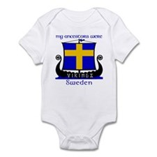 Swedish Viking Ancestors Infant Creeper