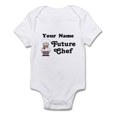 Personalized Future Chef Infant Bodysuit