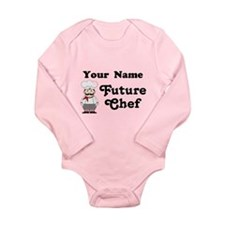 Personalized Future Chef Baby Suit