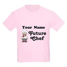 Personalized Future Chef T-Shirt