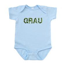Grau, Vintage Camo, Infant Bodysuit