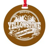 Yellowstone Old Circle Round Ornament
