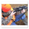 "Hunter Aiming Square Car Magnet 3"" x 3"""