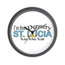 Dennery St. Lucia Wall Clock