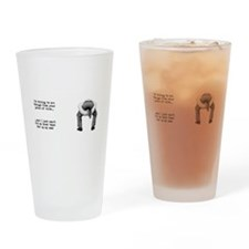 Cute Adult Drinking Glass