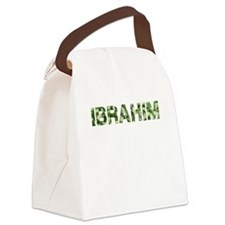 Ibrahim, Vintage Camo, Canvas Lunch Bag
