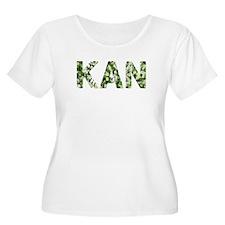 Kan, Vintage Camo, T-Shirt