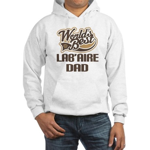 Lab'Aire Dog Dad Hooded Sweatshirt