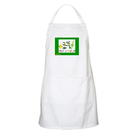 HAPPY SUKKOT HEBREW BBQ Apron