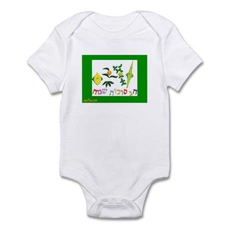 HAPPY SUKKOT HEBREW Infant Bodysuit