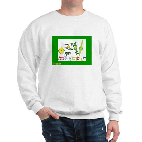HAPPY SUKKOT HEBREW Sweatshirt
