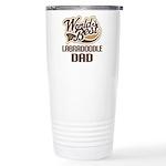 Labradoodle Dog Dad Ceramic Travel Mug