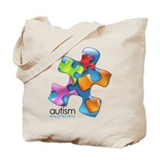 Unique Autism support Tote Bag