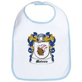Mateos Coat of Arms Bib