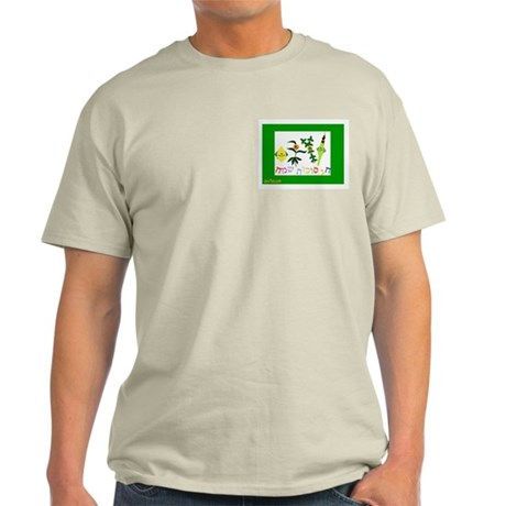 Sukkot Happy Succah Time Light T-Shirt
