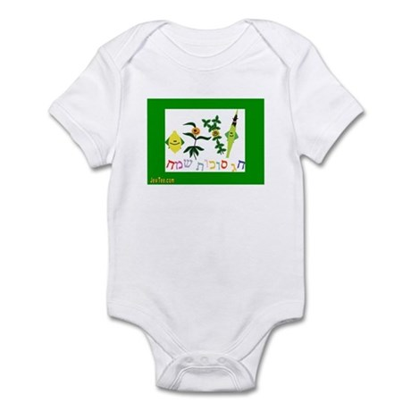Sukkot Happy Succah Time Infant Bodysuit