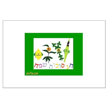 Sukkot Happy Succah Time Large Poster