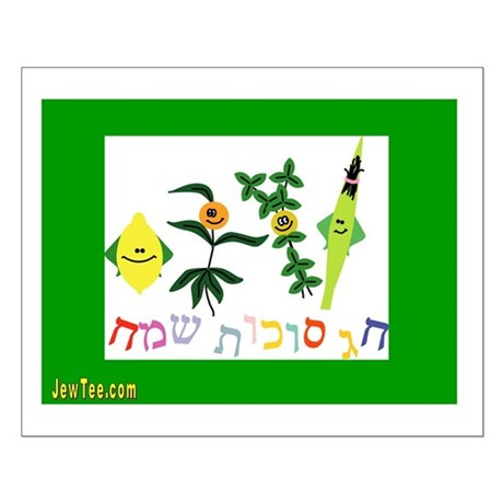 Sukkot Happy Succah Time Small Poster