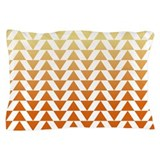 Triangles - Creamsicle Pillow Case