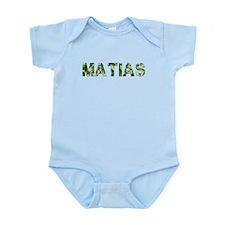 Matias, Vintage Camo, Infant Bodysuit