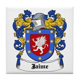 Jaime Coat of Arms Tile Coaster