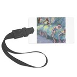 Cute Painting Large Luggage Tag