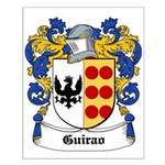 Guirao Coat of Arms Small Poster
