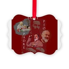 Cool Holiness Picture Ornament