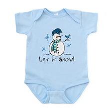 Let It Snow Infant Bodysuit