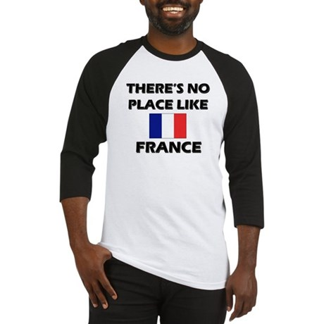 Flag of France Baseball Jersey