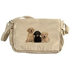 Labrador puppies Messenger Bag