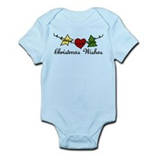 Christmas Wishes Infant Bodysuit