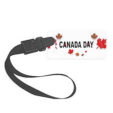 Canada Day Luggage Tag