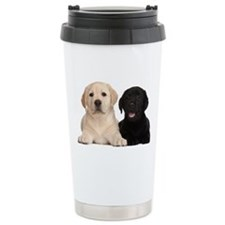 Labrador puppies Ceramic Travel Mug