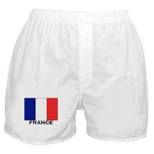 France Flag Stuff Boxer Shorts