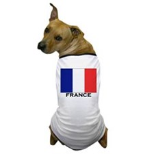 France Flag Stuff Dog T-Shirt