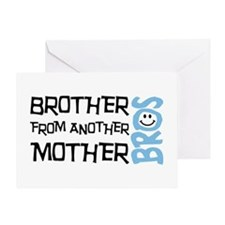 Brother Mother Smile Greeting Card